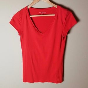 Comfy Ann Taylor Red Top